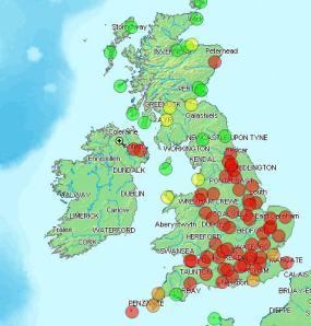 UK WX Map 05/02/09